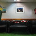 Fauteuils dans la salle d'attente